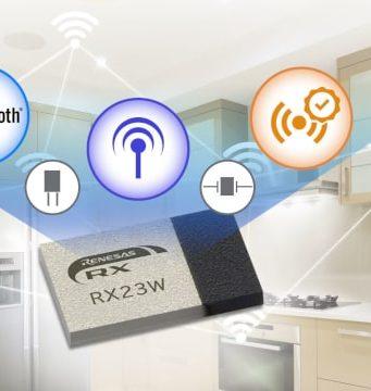 RX23W Módulo Bluetooth para control de dispositivos IoT