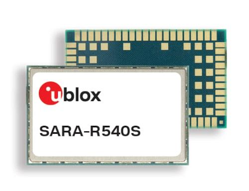 SARA-R540S Módulo LTE-M y NB-IoT con soporte de 400 MHz