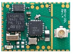 FMLR-8x-x-STLx Módulos transceptores LoRa compatibles con BLE 5.0