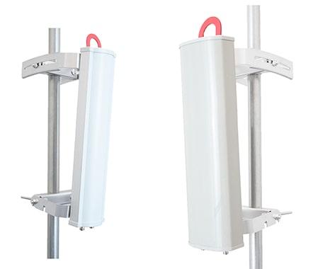 Antenas de sector ProLine de dos puertos y 5 GHz