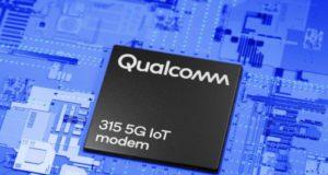Módulos 5G NR con módem IoT Qualcomm 315