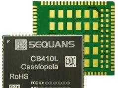 Módulo CBRS Cassiopeia CB410L de tipo LLC para dispositivos IoT