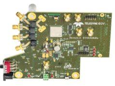 Kit de desarrollo EV12AQ600-FMC-EVM para subsistemas de señal mixta