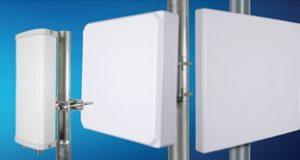 Antenas de sector con polarización dual de L-Com