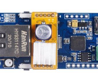 Tarjeta Squama CAN FD a Ethernet con PoE
