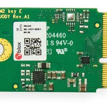 M2-JODY-W2 y M2-JODY-W3 tarjetas M.2 con conectividad inalámbrica