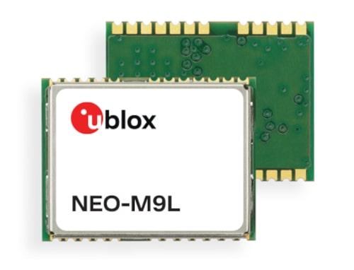 NEO-M9L Módulos dead reckoning de dos salidas para automoción