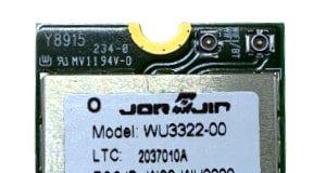 Módulo WLAN+Bluetooth WU3322-00