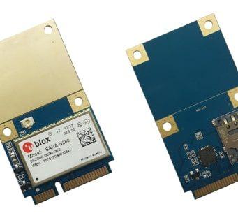 Tarjetas Mini PCIe para NB-IoT RYN2000 con interfaz USB 2.0