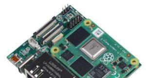 Placa portadora Gigabit dual para Raspberry Pi CM4