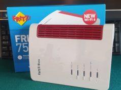 FRITZ!Box 7530 AX router Wi-Fi 6 compatible