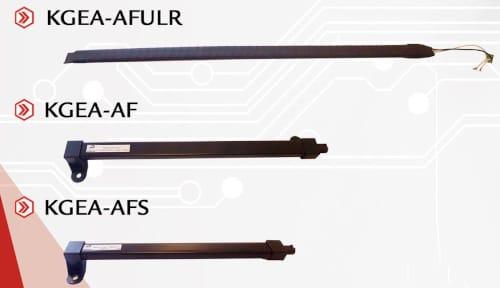 KGEA-AF Antenas emisoras magnéticas para aplicaciones PKE en automoción