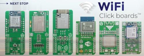 Solución WiFi 8 Click con kit de desarrollo