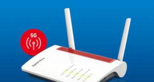 FRITZ!Box 6850 5G router con Wi-Fi Mesh